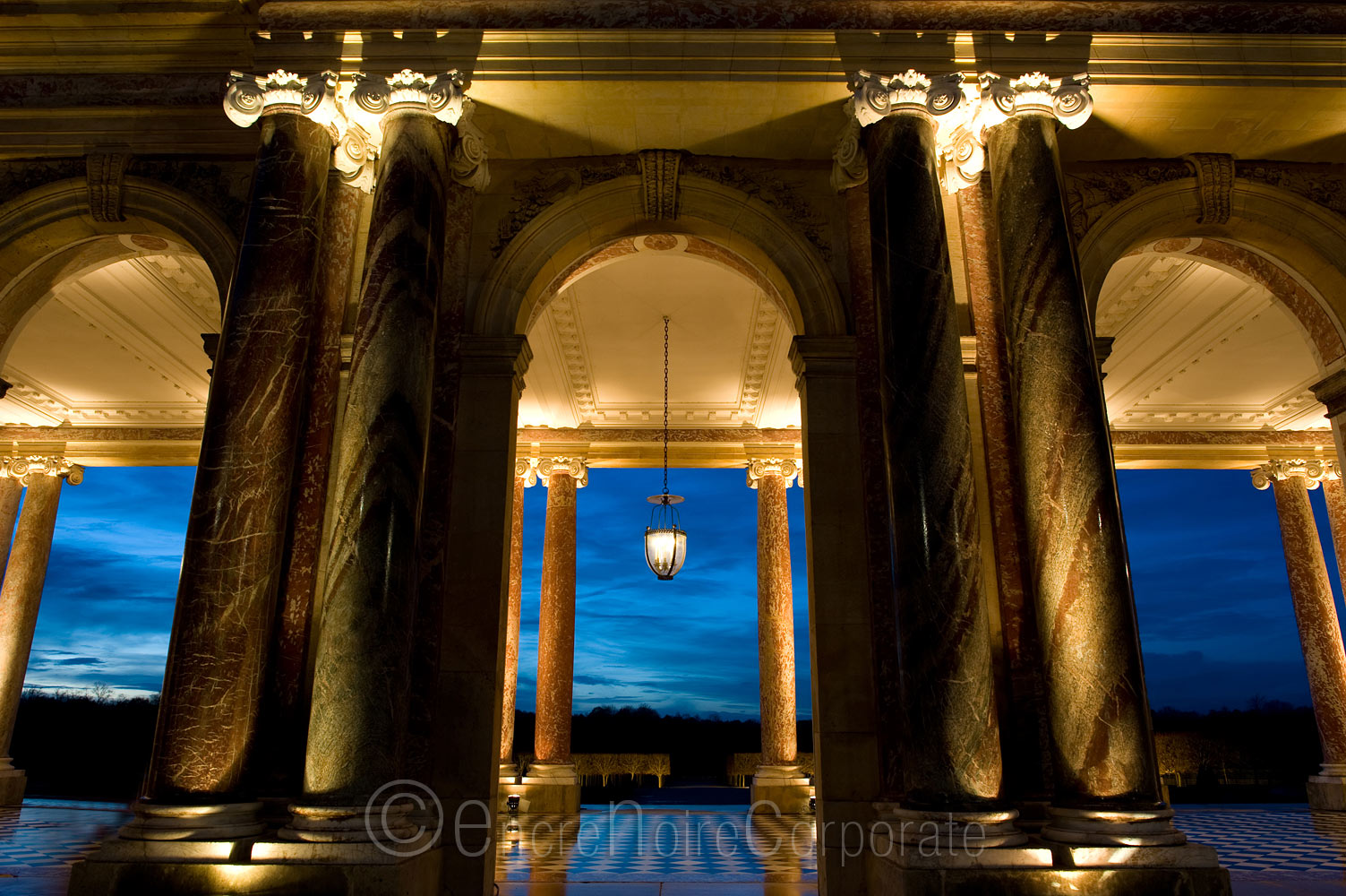 Grand Trianon by Night